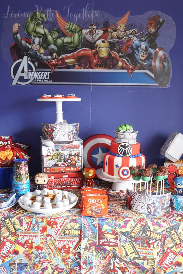 MARVEL's The Avengers: Age of Ultron Party Ideas