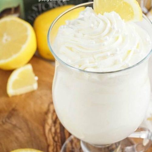 Sansa's Lemon Cake Cocktail