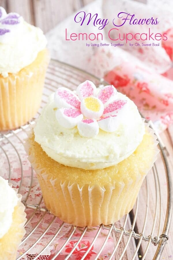 May Flowers Cupcakes