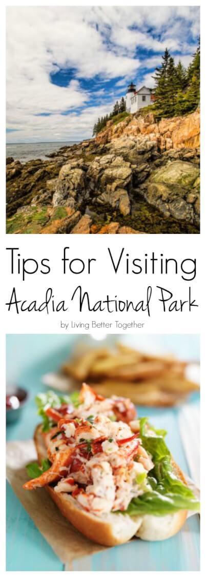 Tips for eating, seeing, and staying in Maine's gorgeous Acadia National Park. via @sugarandsoulco