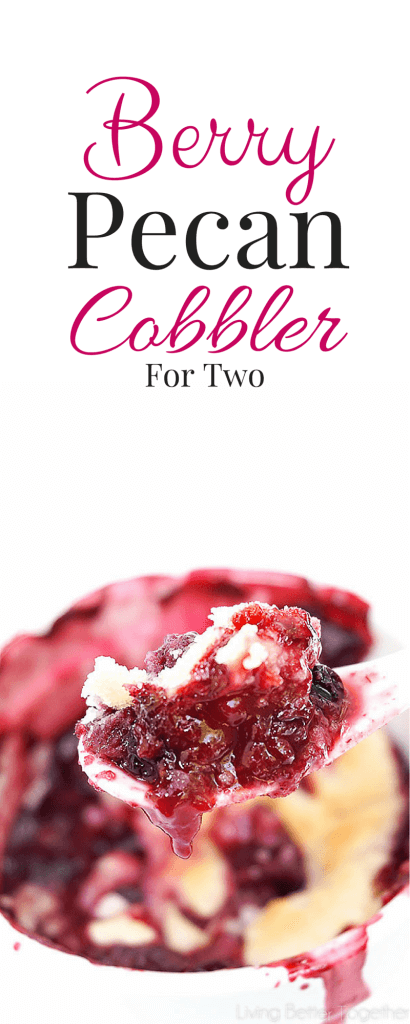 I loved this Berry Pecan Cobbler, it was just the right amount of sweetness for summer and so easy to make!