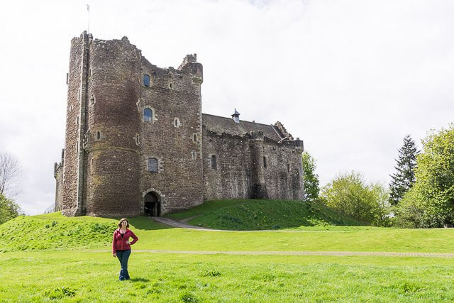 If you're a Game of Thrones, Outlander, or Monty Python fan, Doune Castle in Scotland is a MUST see!