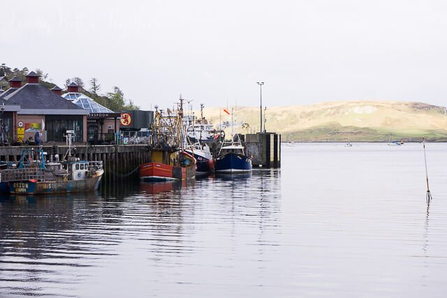 Oban Harbor, Scotland
