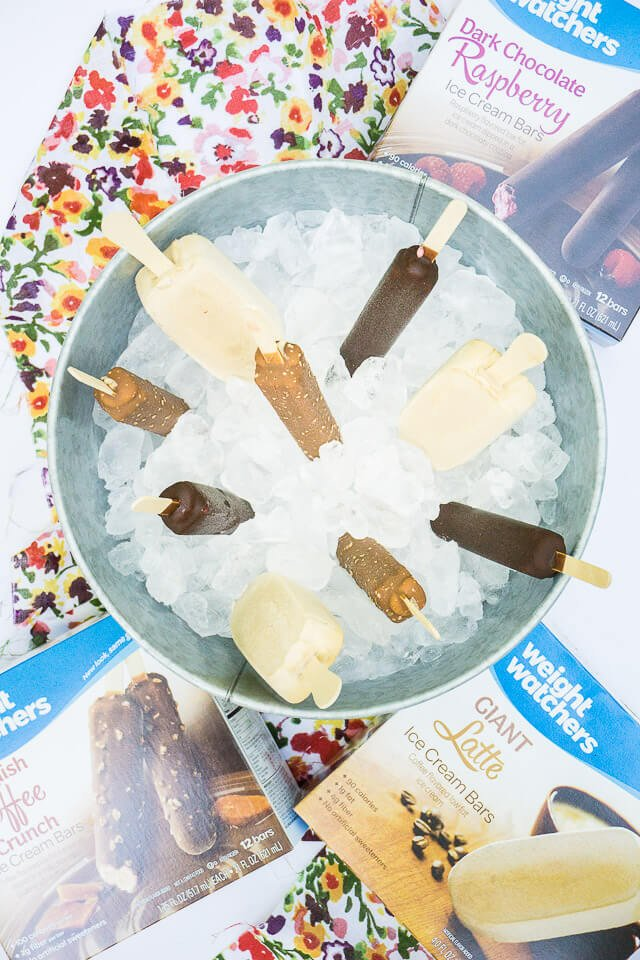 Weight Watchers Ice Cream for celebrating life's winning moments!