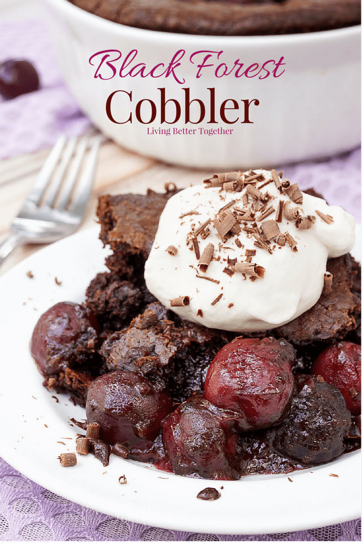 Black Forest Cobbler
