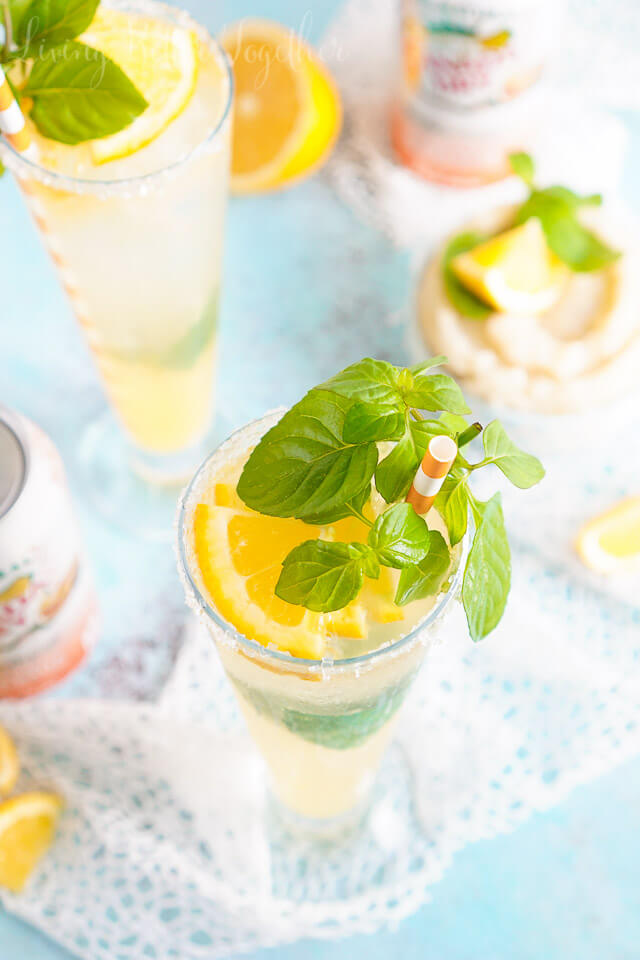 This Mandarin Orange Mojito combines the powerful flavors of citrus and mint for a spa-worthy cocktail!