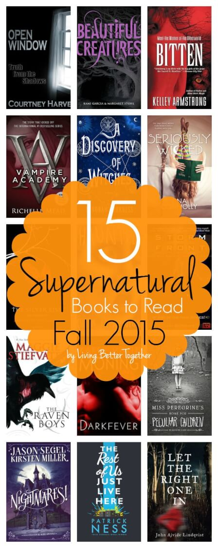 These 15 Supernatural Books to Read this Fall are just the thing to get your imagination going, from young adult to short stories to just plain creepy, there's a little something for everyone. via @sugarandsoulco