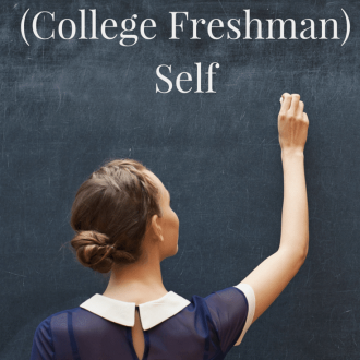 Heading out into the great unknown we call adulthood? Here's a little helpful Advice I'd Give to my College Freshman Self and hopefully it will get you off to a strong start!
