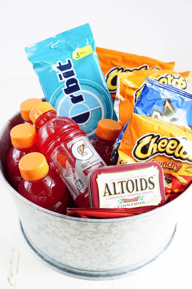 Road Trip Survival Snack Kit