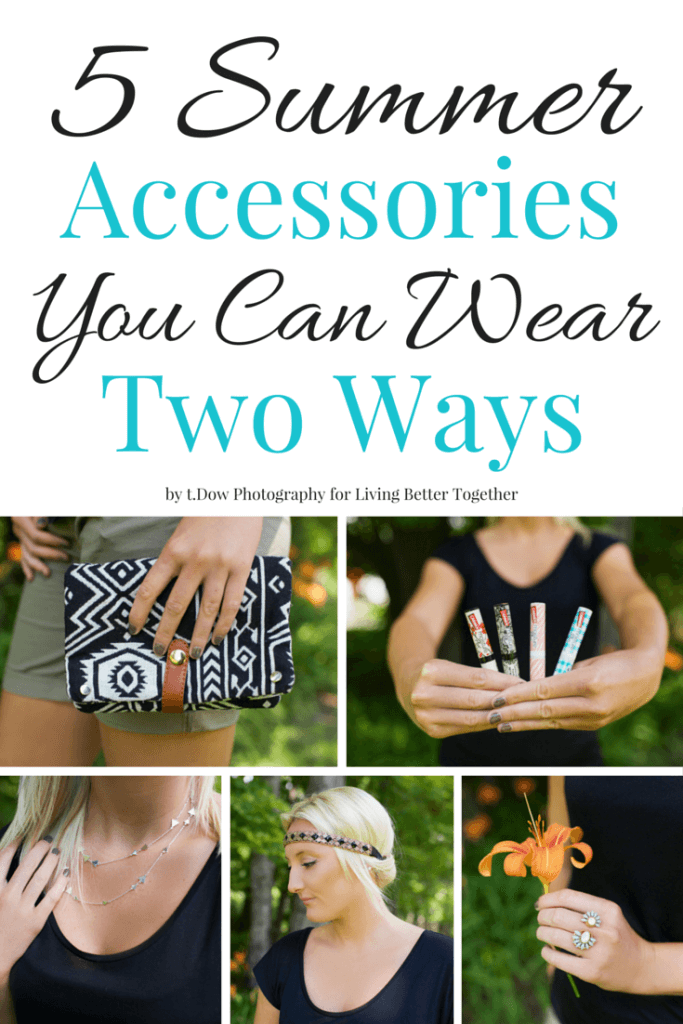 These 5 Summer Accessories You Can Wear Two Ways with Carmex are absolute style must haves!