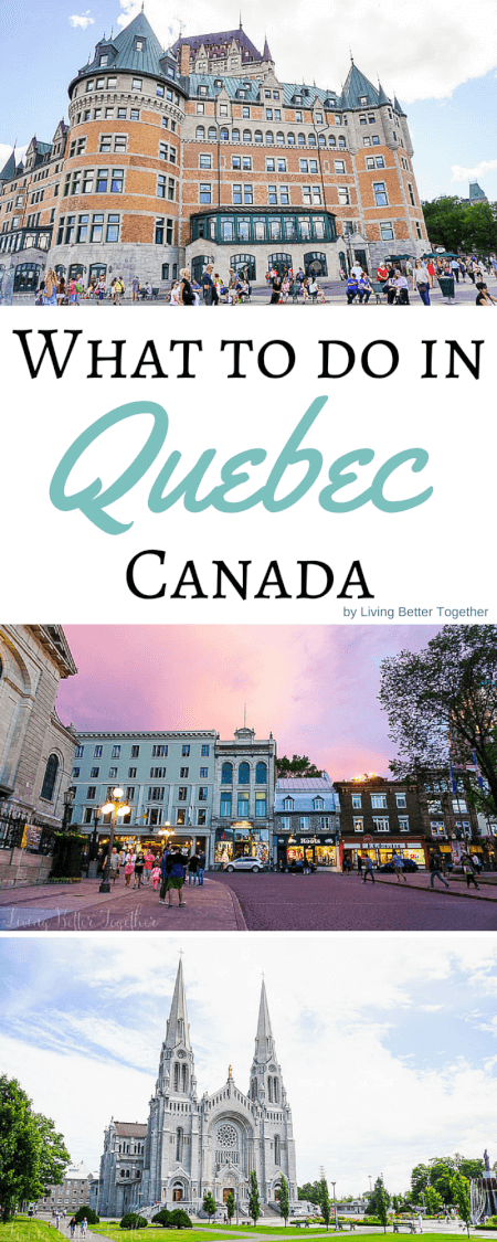 What to see and do in and around Quebec City in 48 hours! This beautiful little city in Canada with European charm is a must visit! via @sugarandsoulco