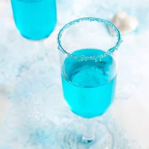 Cinderella's Blue Raspberry Champagne