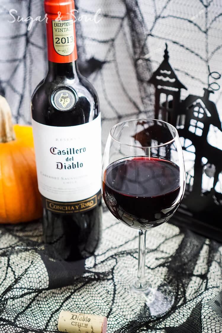 Halloween Party Tips with Casillero del Diablo - Sugar & Soul