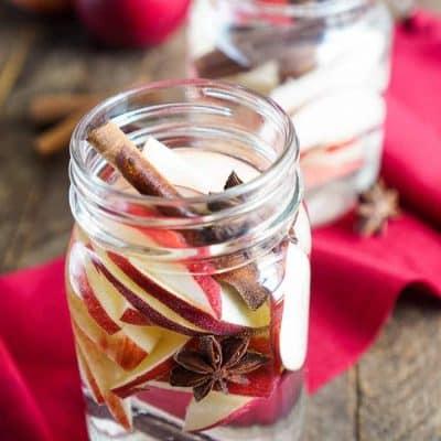 Apple Spice Detox Water