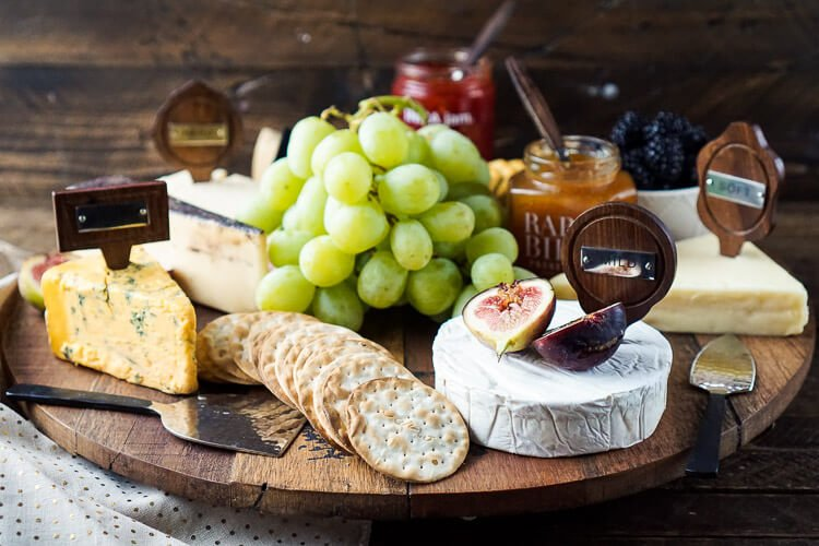 These 5 Tips for a Great Fruit and Cheese Board will have you entertaining with flavor and style! Learn how to choose cheeses and pairings, how to style and serve them, plus tips for doing it on a budget! This is a great appetizer for any get together and doesn't require any cooking!