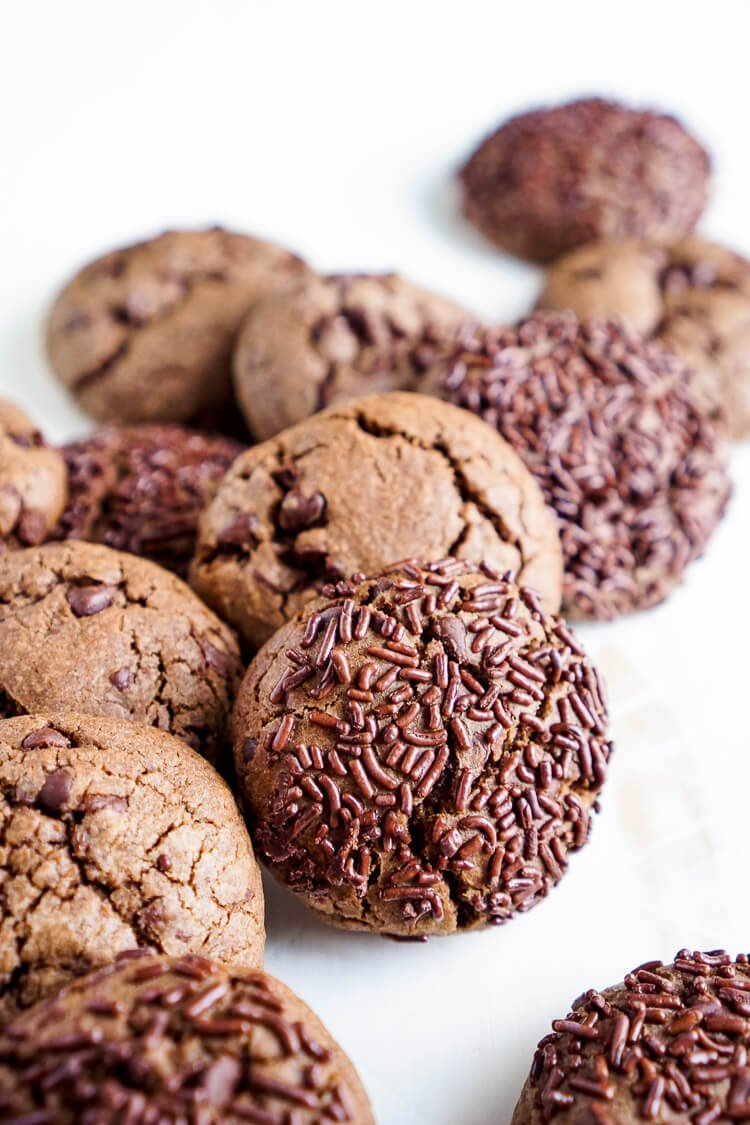 Nutella Chip Cookies - Sugar & Soul