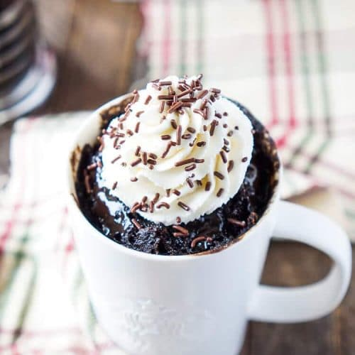 5-Minute Mocha Mug Cake