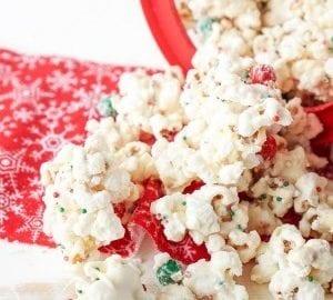 merry movie night christmas cake popcorn sugar soul