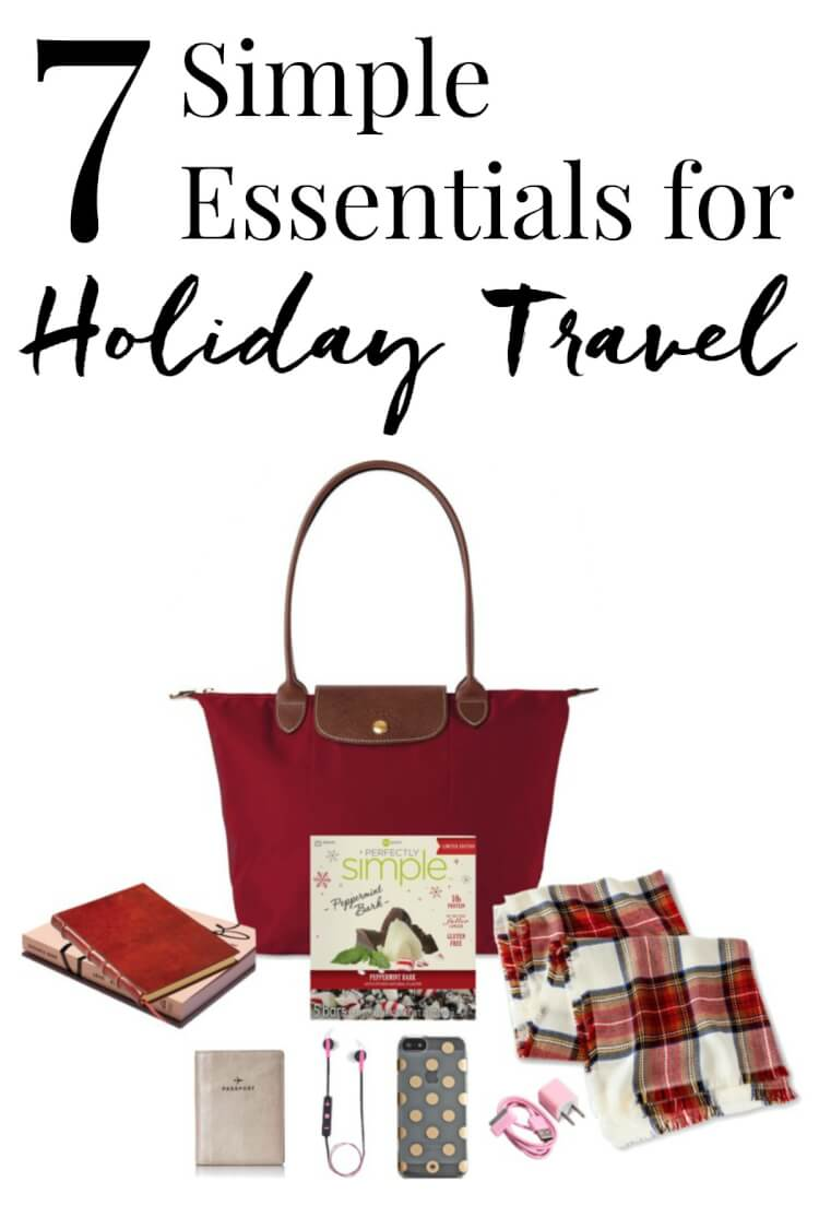 These 7 Simple Essential for Holiday Travel will have you prepared for a week back home with the family or a relaxing holiday abroad!