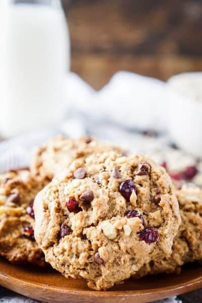 Everything Breakfast Cookies