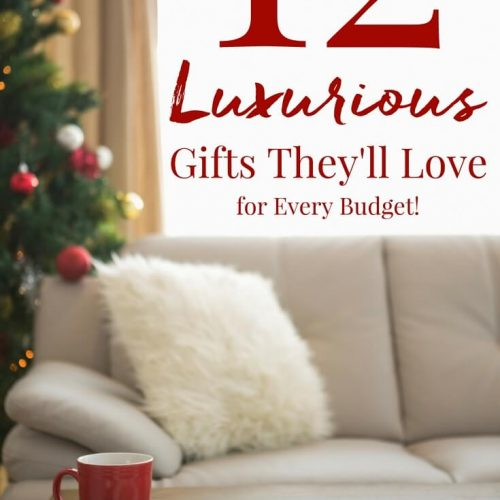 12 Luxurious Gifts They'll Love