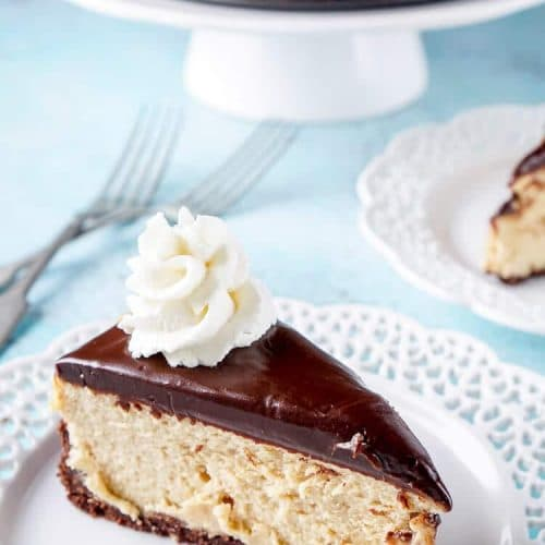 Peanut Butter Chocolate Cheesecake