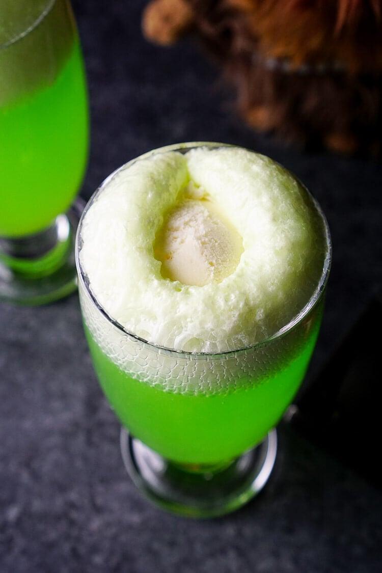 Yoda Soda Float