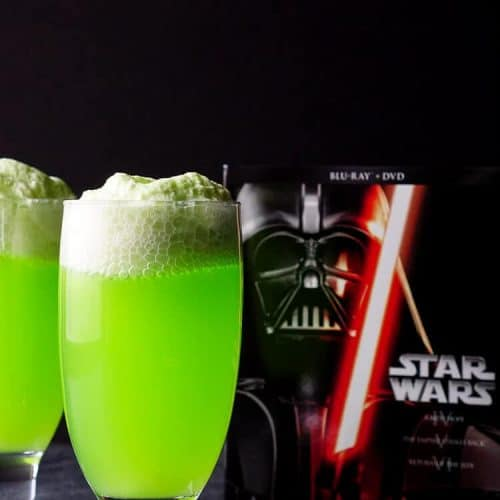 Star Wars Yoda Soda Float