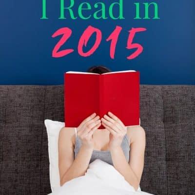 Best Books I Read in 2015
