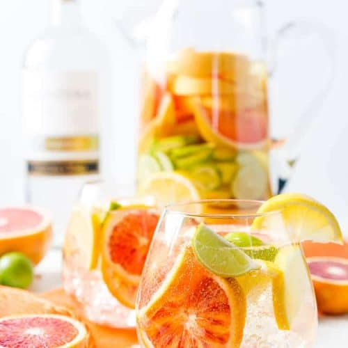 Easy White Wine Citrus Sangria Recipe