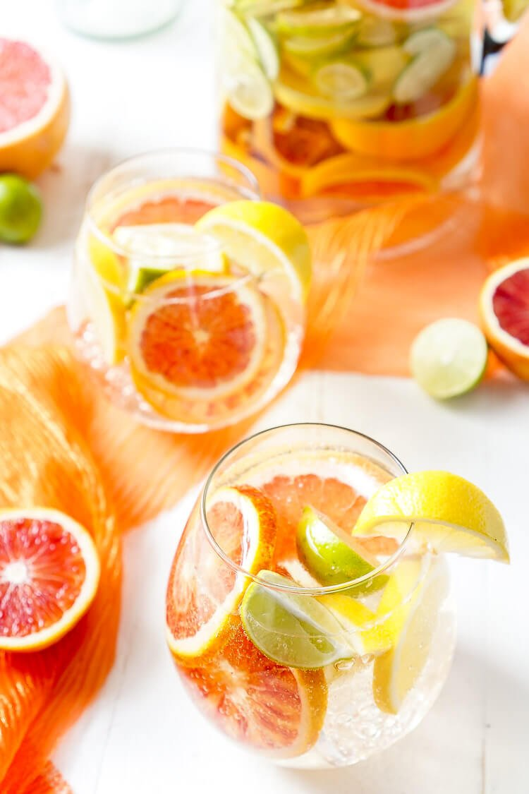 Citrus Sangria Recipe — Dishmaps