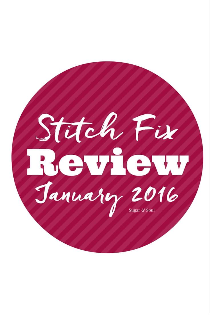 January 2016 Stitch Fix Review