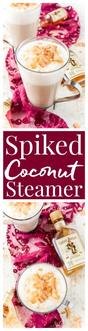 Spiked Coconut Vanilla Steamer is one of the coziest winter cocktails ...