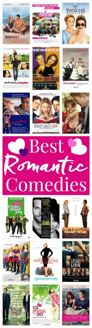 Love Romantic Comedies? This is the list of all the ones you NEED to watch! via @sugarandsoulco