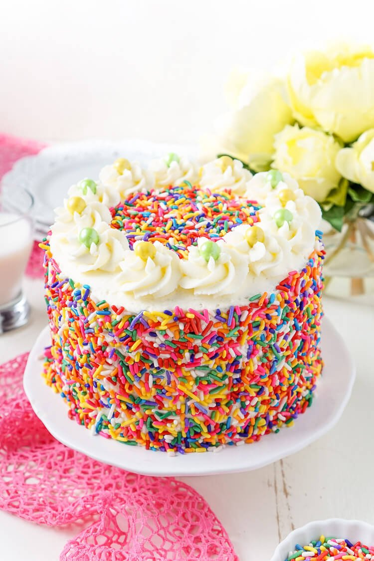 What Is The Best Frosting For Funfetti Cake