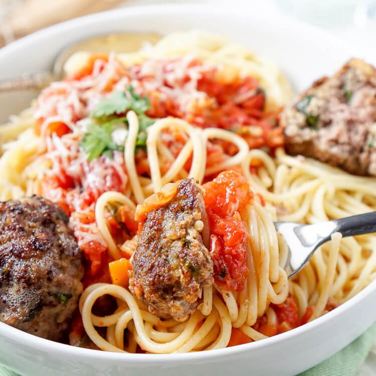 Soul Food Spaghetti And Meatballs Recipe