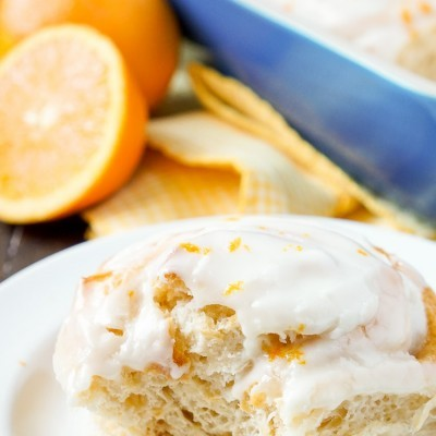 Orange Marmalade Cream Cheese Sweet Rolls