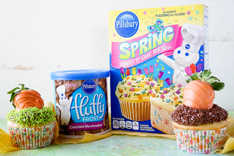 Take boxed cake mix to the next level with these Easy Easter Cupcakes that are so fun and simple to make!