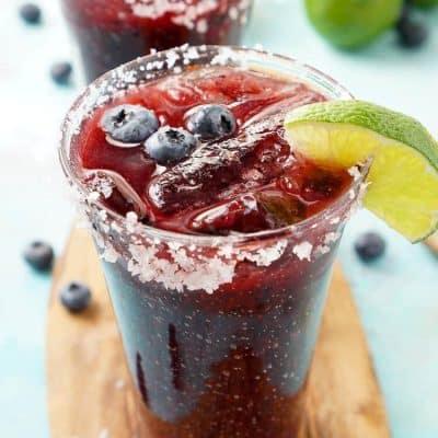 Fresh Blueberry Margarita