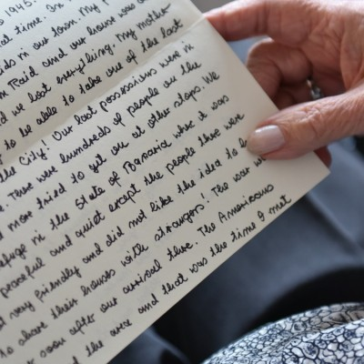 Letters of Hope for Syrian Refugees