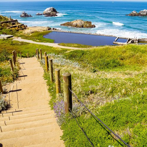 Sutro Baths Ruins in San Francisco