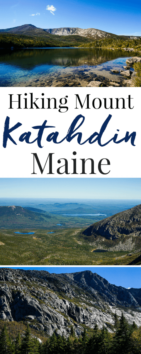 Have you ever hiked Mount Katahdin in Maine? It's the Northern terminus of the Appalachian Trail in Baxter State Park. It's a part of Maine life. via @sugarandsoulco