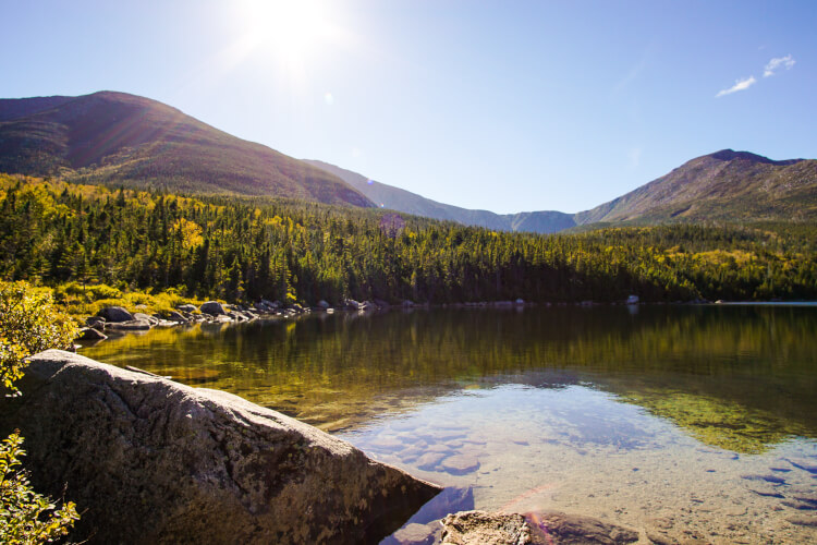 Have you ever hiked Mount Katahdin in Maine? It's the Northern terminus of the Appalachian Trail in Baxter State Park. It's a part of Maine life.