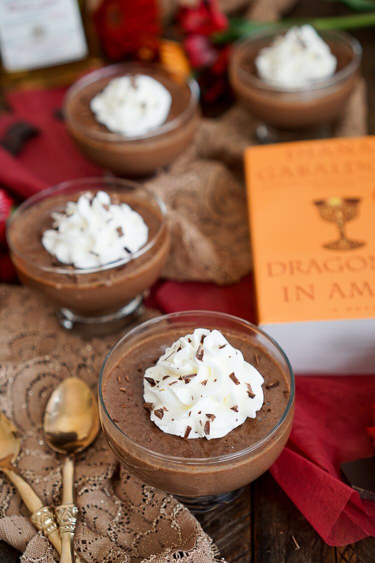 Scotch and Chocolate Pots de Creme - Sugar & Soul