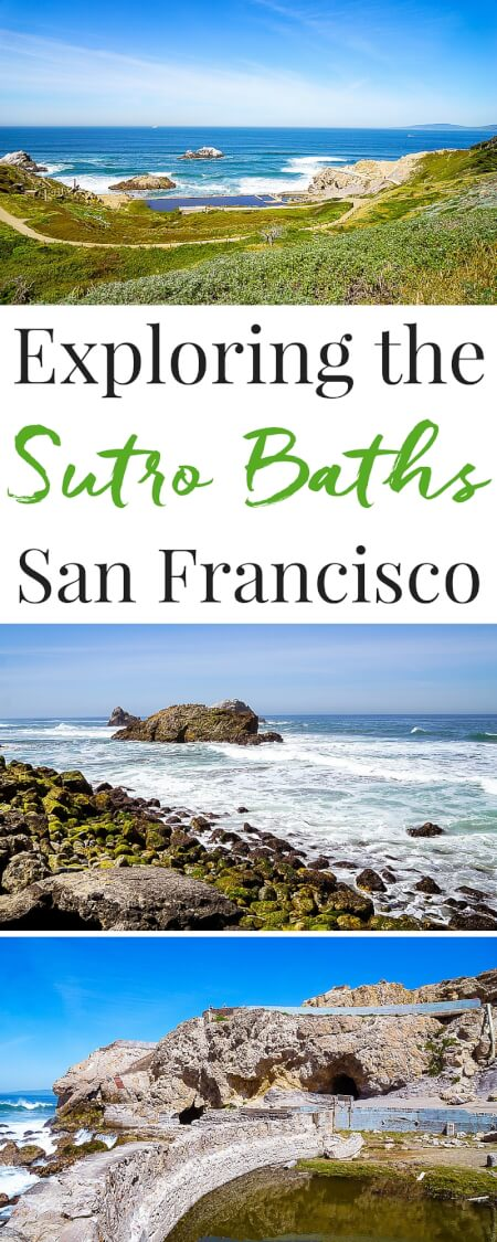 The Sutro Baths Ruins might just be the best-kept secret in San Francisco! If you're planning a trip, make sure it's on your itinerary! via @sugarandsoulco