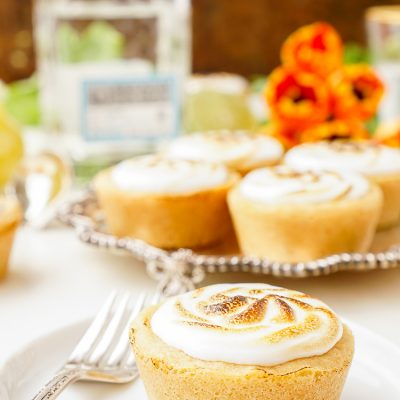 Tequila Lime Cookie Tarts