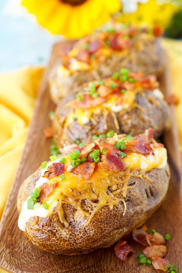 Best Ever Baked Potatoes Sugar Amp Soul