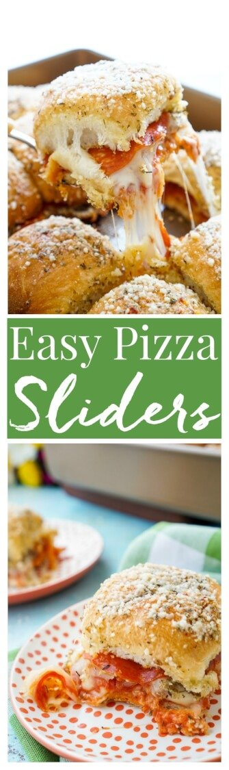 Quick and easy pizza sliders recipe sugar soul these easy pizza sliders are so simple to make and are sure to be a family forumfinder