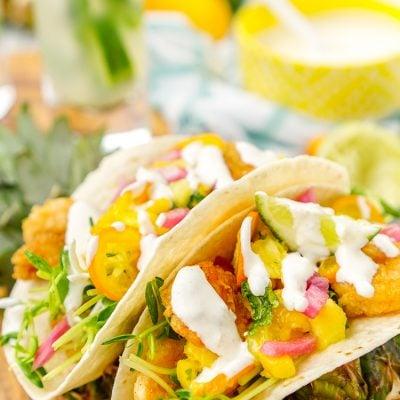 Tropical Shrimp Tacos