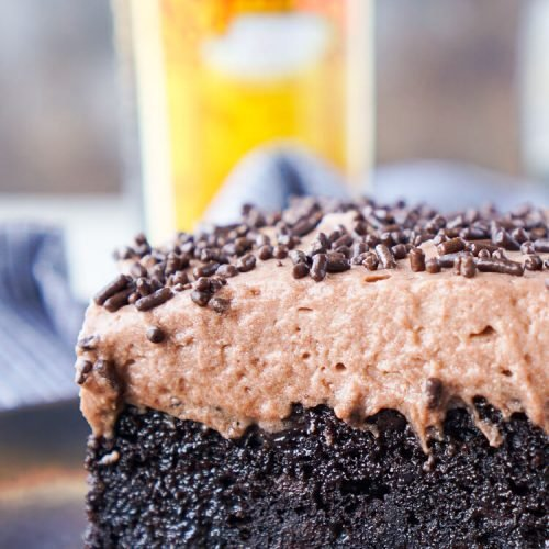 Kahlua Chocolate Poke Cake Recipe